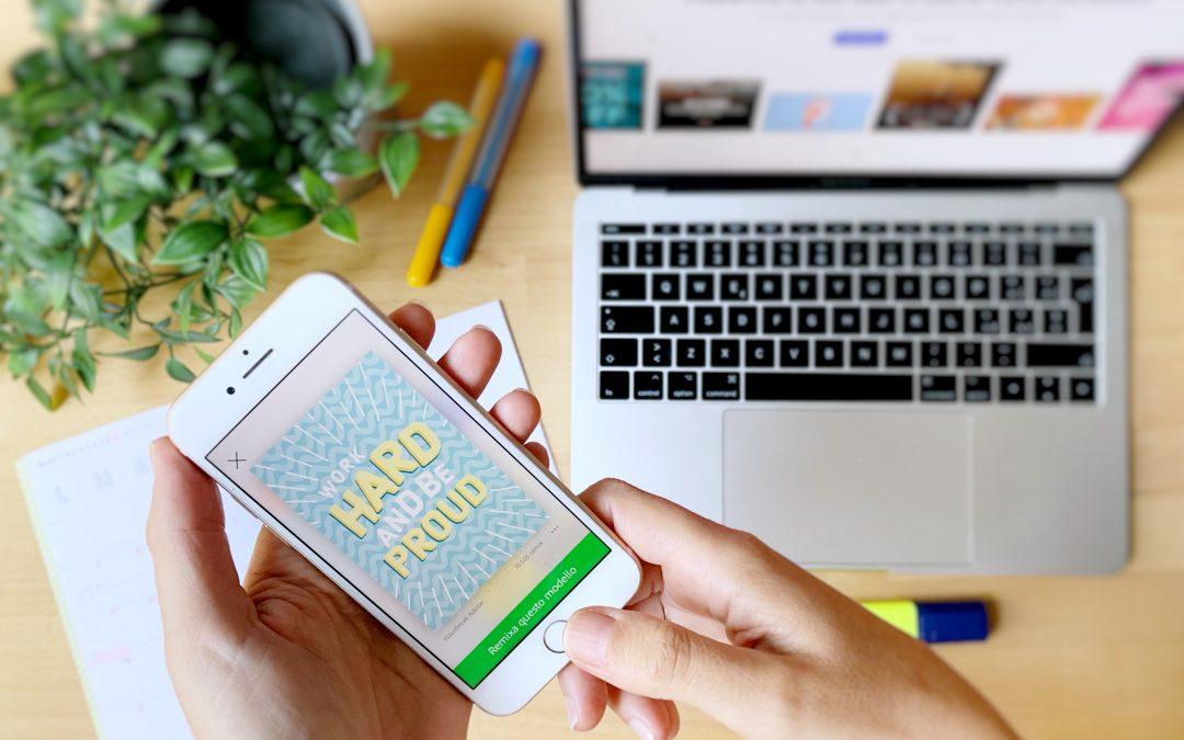 Creare Instagram stories belle e d'impatto con Adobe Spark Post